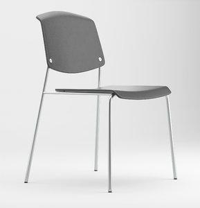 3D chair paus model