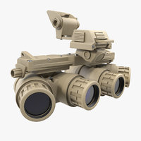 3D ground panoramic night vision