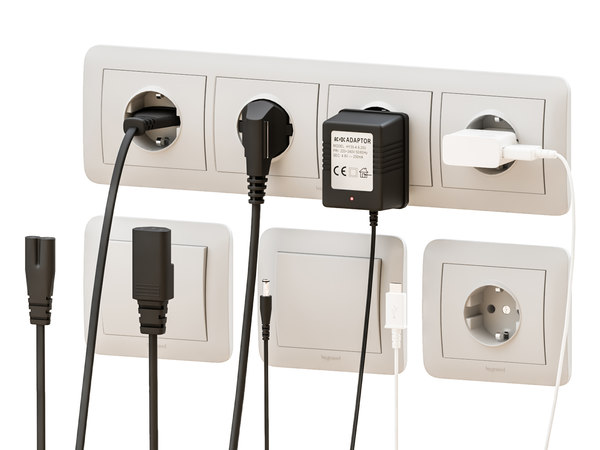 power plugs 3D
