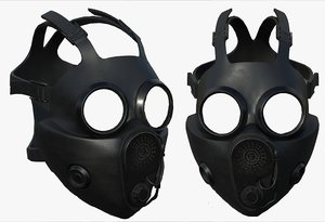 3D pollution mask
