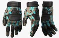 3D gloves protection model