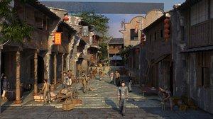chinese village 3D