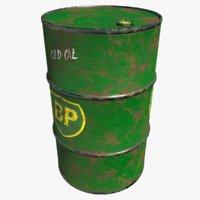 barrel bp 3D model