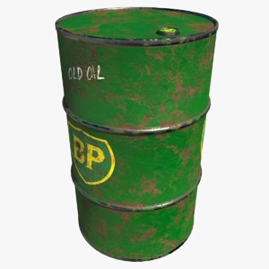 barrel bp 3D model