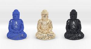 gautama buddha 3D model