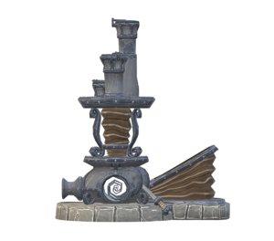 3D steam machine model