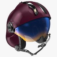 helicopter helmet evolution 252 3D model
