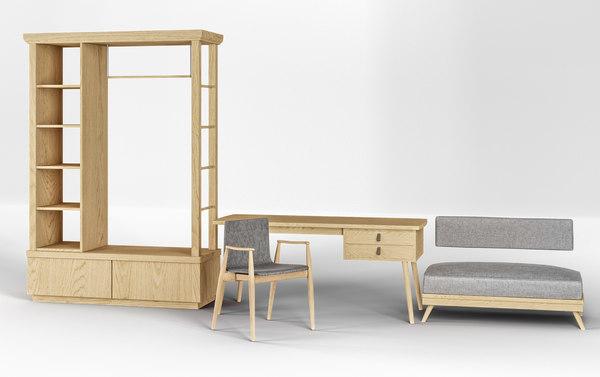 poltrona furniture 3D model
