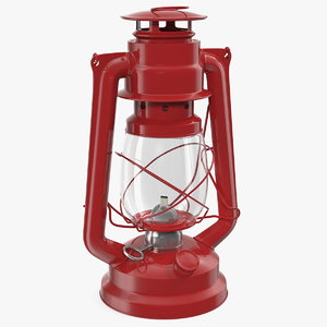 retro kerosene lamp model