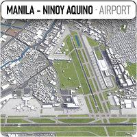 aquino international airport mnl 3D model