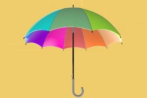 umbrella parasol 3D