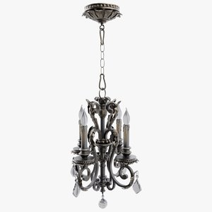 3D chandelier light lamp