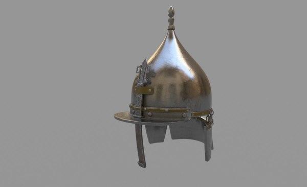3D helmet seljuk