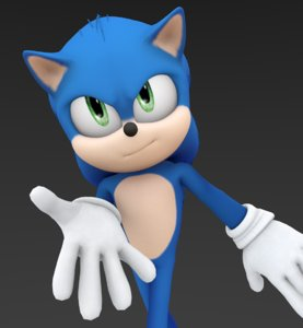 sonic hedgehog 3D