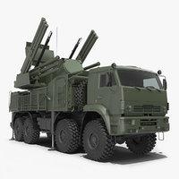 3D model missile pantsir s1 sa-22