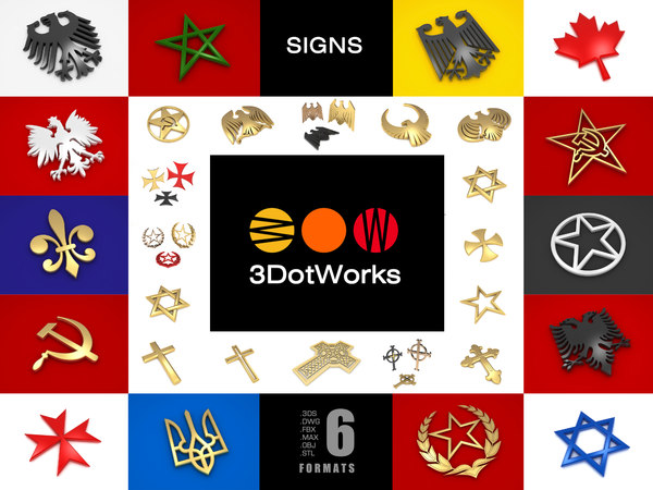 3D signs pack