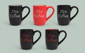 nice coffee cup model