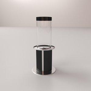tube aquarium 3D model