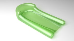 3D water-air-mattress 4 model