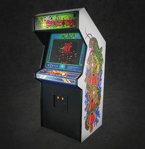 centipede arcade model