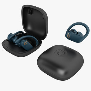beats powerbeats pro 3D model