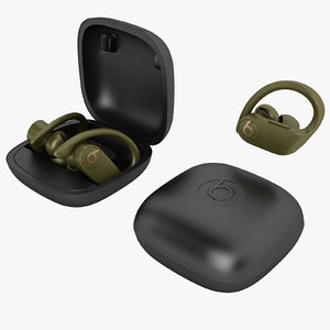 3D beats powerbeats pro model