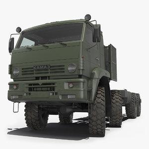 3D kamaz 6560 military truck