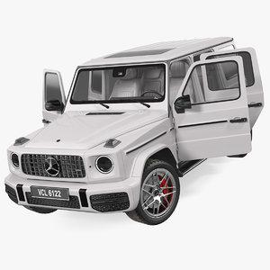mercedes-benz g63 amg suv 3D