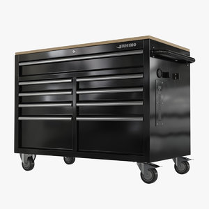mobile tool chest drawers 3D model