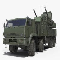 Pantsir S1 SA-22 Greyhound Dirty Rigged
