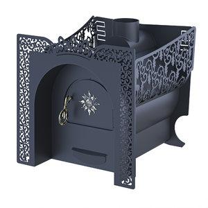 3D stove corona model