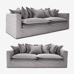 hampton fabric sofa model