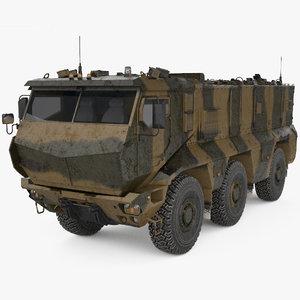 kamaz kamaz-63968 63968 3D model