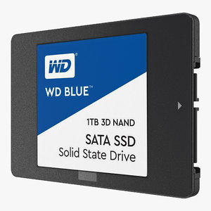 western digital blue ssd 3D