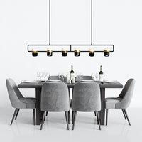 Modern Dinning Set 1