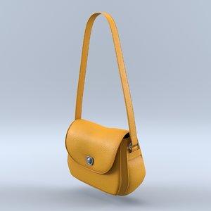 3D woman purse
