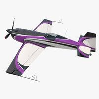 Aerobatic Monoplane Aircraft Rigged