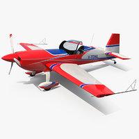3D aerobatic monoplane extra ea-300