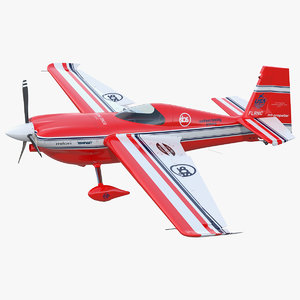 3D aerobatic aircraft zivko edge