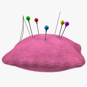 3D pin cushion sewing hobby