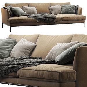 alivar sofa portofino 3D