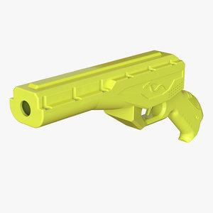 lasertag pistol 3D model