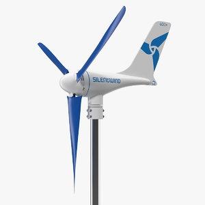 silentwind 400 marine wind generator 3D model