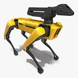 spotmini boston dynamics manipulator 3D model