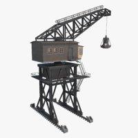 3D dock crane