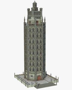 building skyscraper structure model