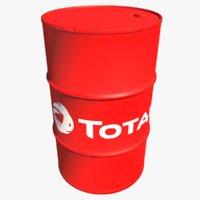 barrel total oil 3D model