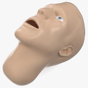 3D manikin head model