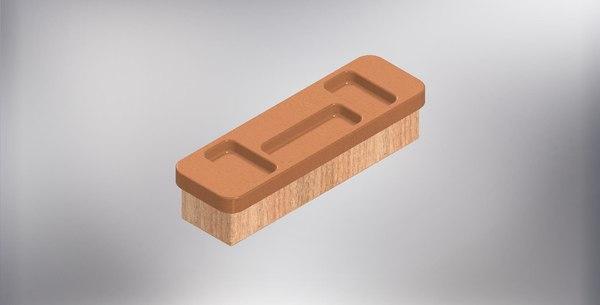 3D wood stl