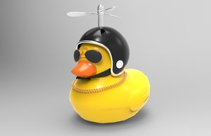 yellow duck 3D model